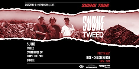 Distorted & Southside Presents: Suune Tour - Christchurch tickets