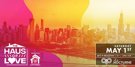 The Haus Of Love. Three In Person Safe Events in a Day. House Music. tickets