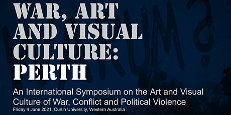 War, Art and Visual Culture: Perth tickets