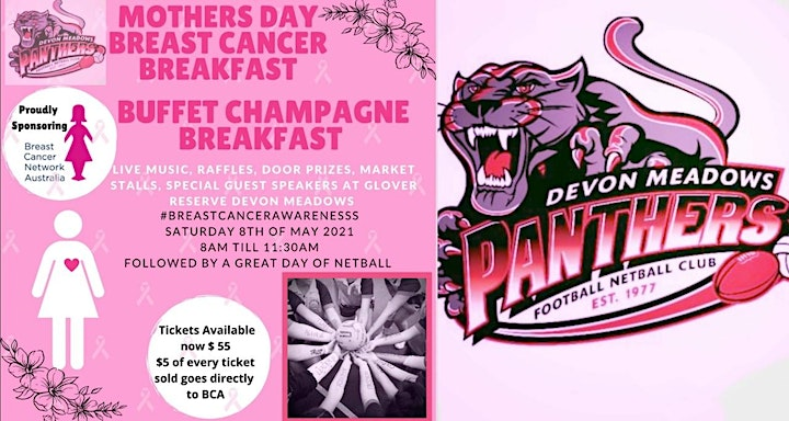 DMFNC Mothers Day Breast Cancer Breakfast image
