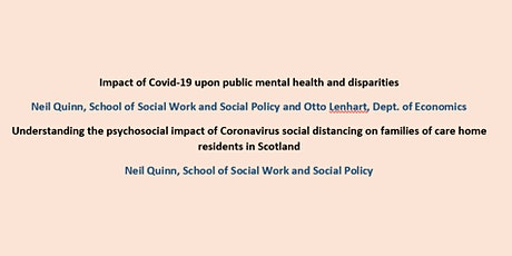 Social Work and Social Policy Strathclyde: Seminar #9 tickets