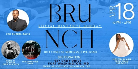 Social Distance Sunday Brunch tickets