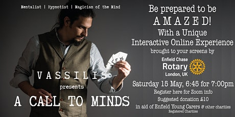 An Evening with Vassilis tickets