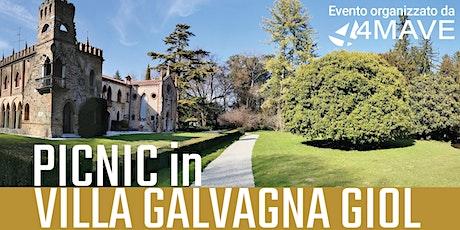 Picnic in Villa Galvagna Giol biglietti