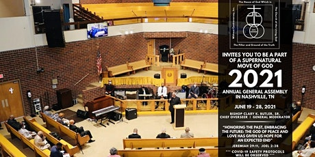 2021 House of God General Assembly Registration tickets