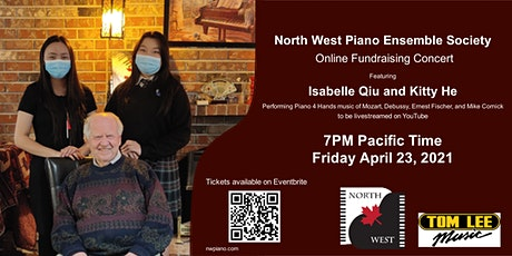 Online Fundraising Concert ft. Isabelle and Kitty tickets