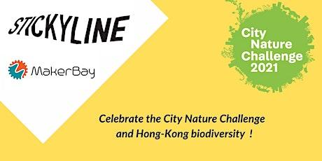 City Nature Challenge - Biodiversity exploration & Paper animals making tickets