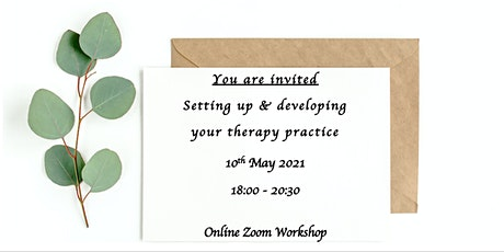 Setting up & Developing your Therapy Practice tickets
