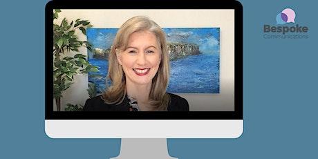 Data storytelling - virtual communication skills - Galway tickets