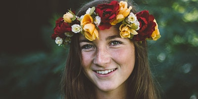 Garden Day - Floral Crown Making and Yoga Session