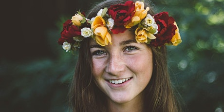 Garden Day - Floral Crown Making and Yoga Session tickets