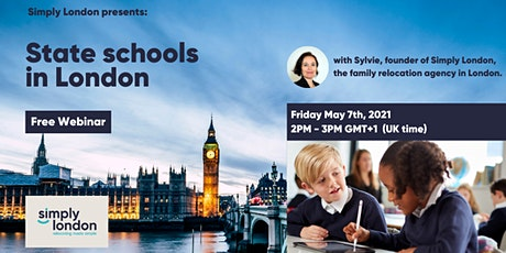State Schools in London: a free webinar by Simply London tickets