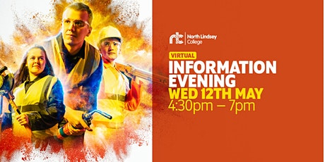 May Information Evening - phone appointments ONLY. tickets