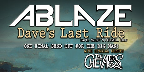 Ablaze (Farewell show) tickets