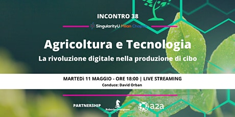 Agricoltura e tecnologia: la rivoluzione digitale nella produzione di cibo biglietti