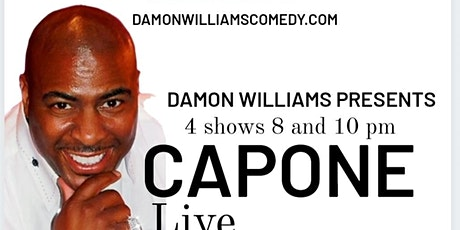 Capone Live at RIDDLES Presented by Damon Williams tickets