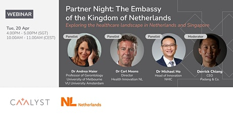 Partner Night: The Embassy of the Kingdom of the Netherlands tickets