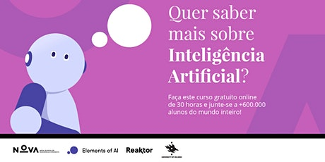 Elements of AI | Apresentação às Organizações Sociais bilhetes
