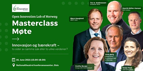 Open Innovation Lab of Norway - Masterclass Møte tickets