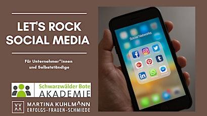 Let´s Rock Social Media! Für Unternehmer und Selbstständige Tickets
