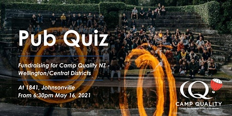 Camp Quality WCD pub quiz tickets
