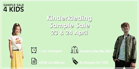 Sample Sale Kinderkleding Zomersale | 23 & 24 April tickets