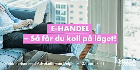 Seminarium: Fokus på e-handel tillsammans med Delphi Tickets