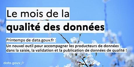 Qualité des données ouvertes : présentation de publier.etalab.studio billets