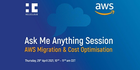 Ask Me Anything Session – AWS Migration & Cost Optimisation billets