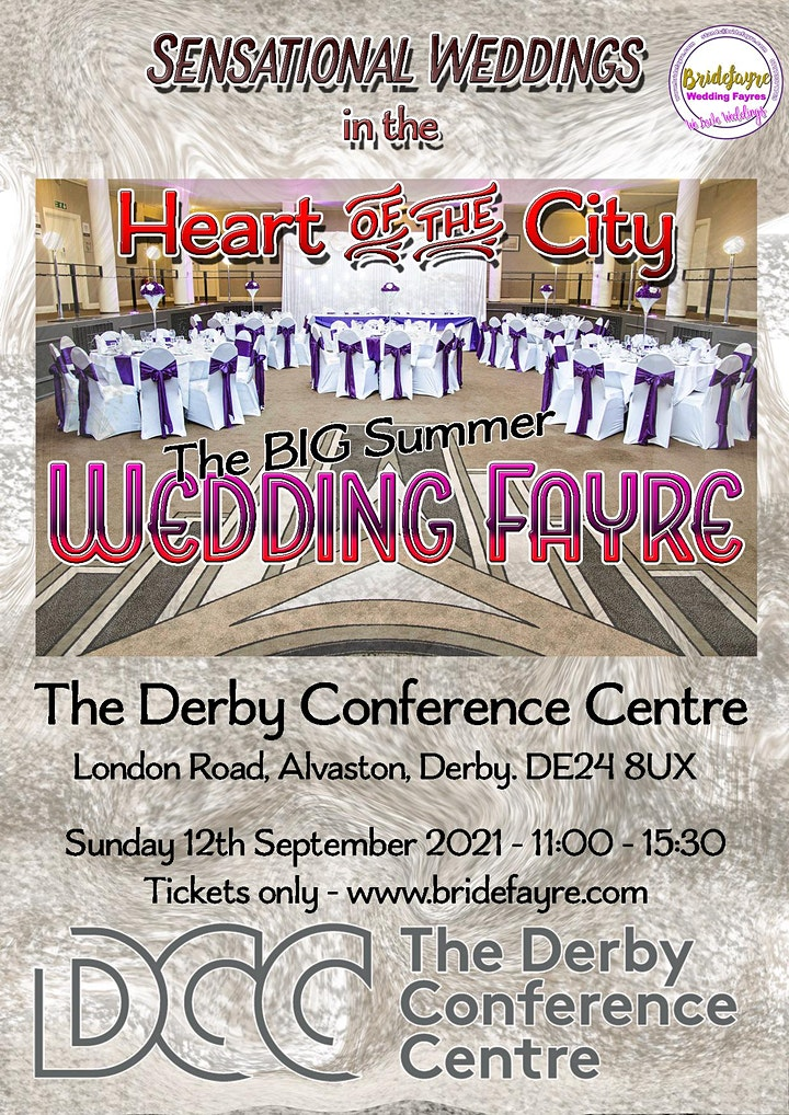 Derby Conference Centre 2021 Wedding Fayre image