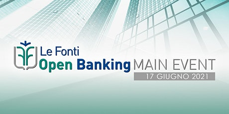 Le Fonti Open Banking Main Event tickets
