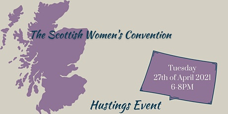 The Scottish Women's Convention Hustings tickets