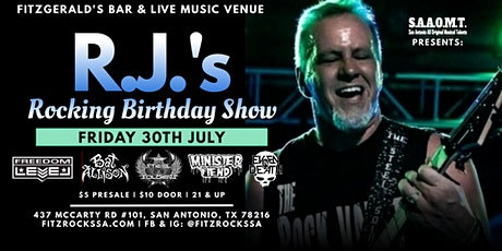 R.J.s Rocking Birthday Show w/Even In Death, Minister Fiend, The Steel Sold tickets