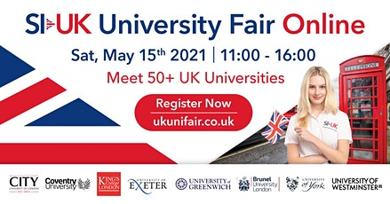 UK University Fair tickets