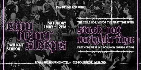 Emo Never Sleeps // May 1st - Day Party tickets
