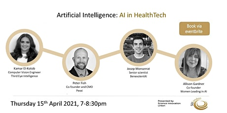 Artificial Intelligence: AI in HealthTech tickets