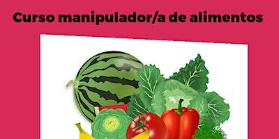 CURSO MANIPULADOR/A ALIMENTOS - 11/05/2021