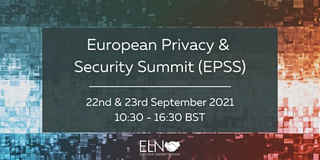 European Privacy & Security Summit (EPSS) Online tickets