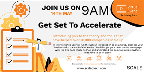 Set to Accelerate - Create your Scaling Up Strategy with Scale Coach tickets