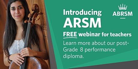 Introducing ARSM – our performance-only diploma tickets