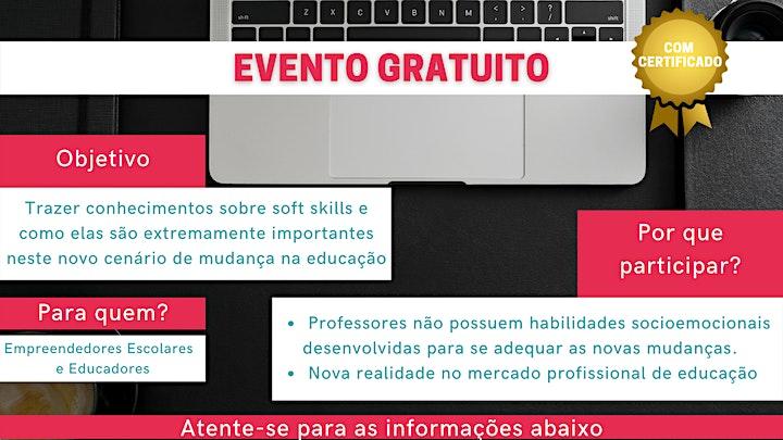 Imagem do evento Soft Skills: 3 passos para ser um educador para o futuro