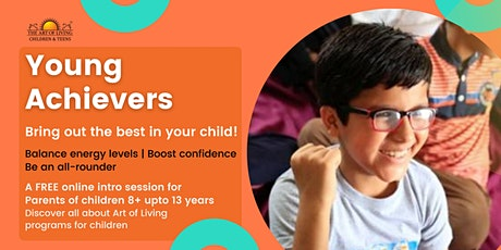 Young Achievers: A FREE Intro Session for Parents tickets