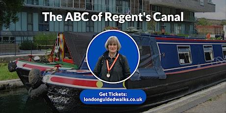 Regent's Canal Walk tickets