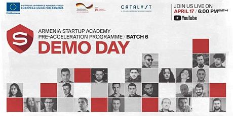 Armenia Startup Academy Pre-accelerator Batch 6 | Demo Day tickets