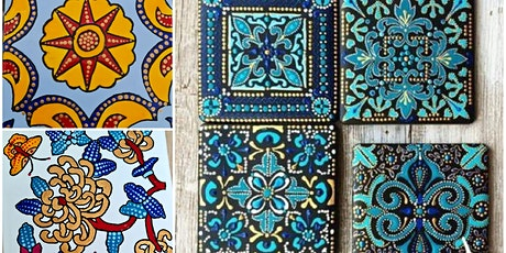 Ceramic Tile Painting workshop tickets