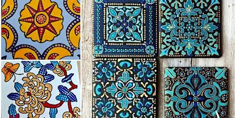 Ceramic Tile Painting workshop tickets