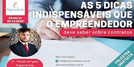 As 5 dicas indispensáveis que o empreendedor deve saber sobre contratos ingressos