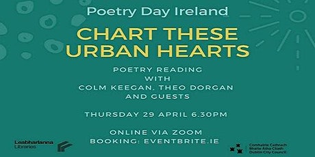 Chart These Urban Hearts - The Reading tickets