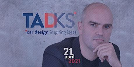 TADtalks | car design inspiring ideas | Lowie Vermeersch tickets