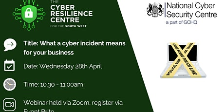 What a Cyber Incident Means for your Business tickets